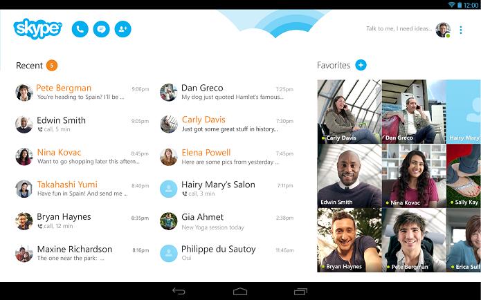 Skype agora tem melhor sincronização (Foto: Divulgação/Microsoft)