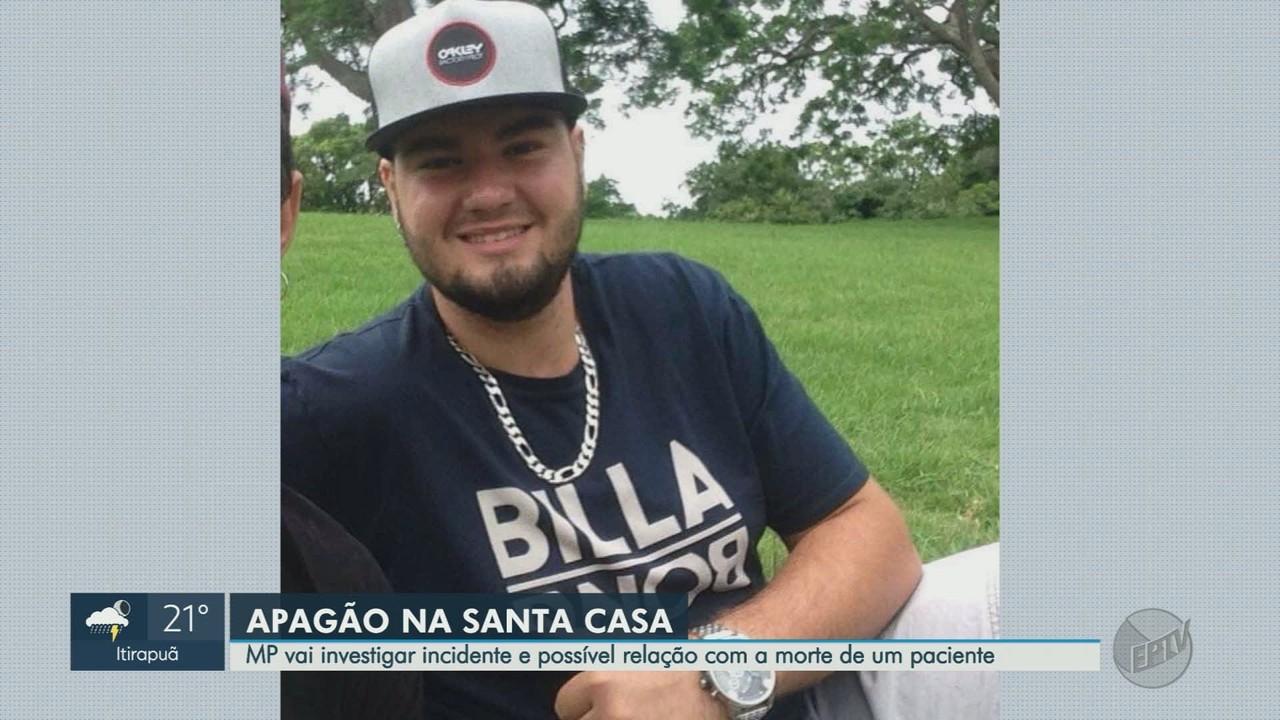 MP investiga relação entre morte de paciente e apagão na Santa Casa de Ribeirão Preto