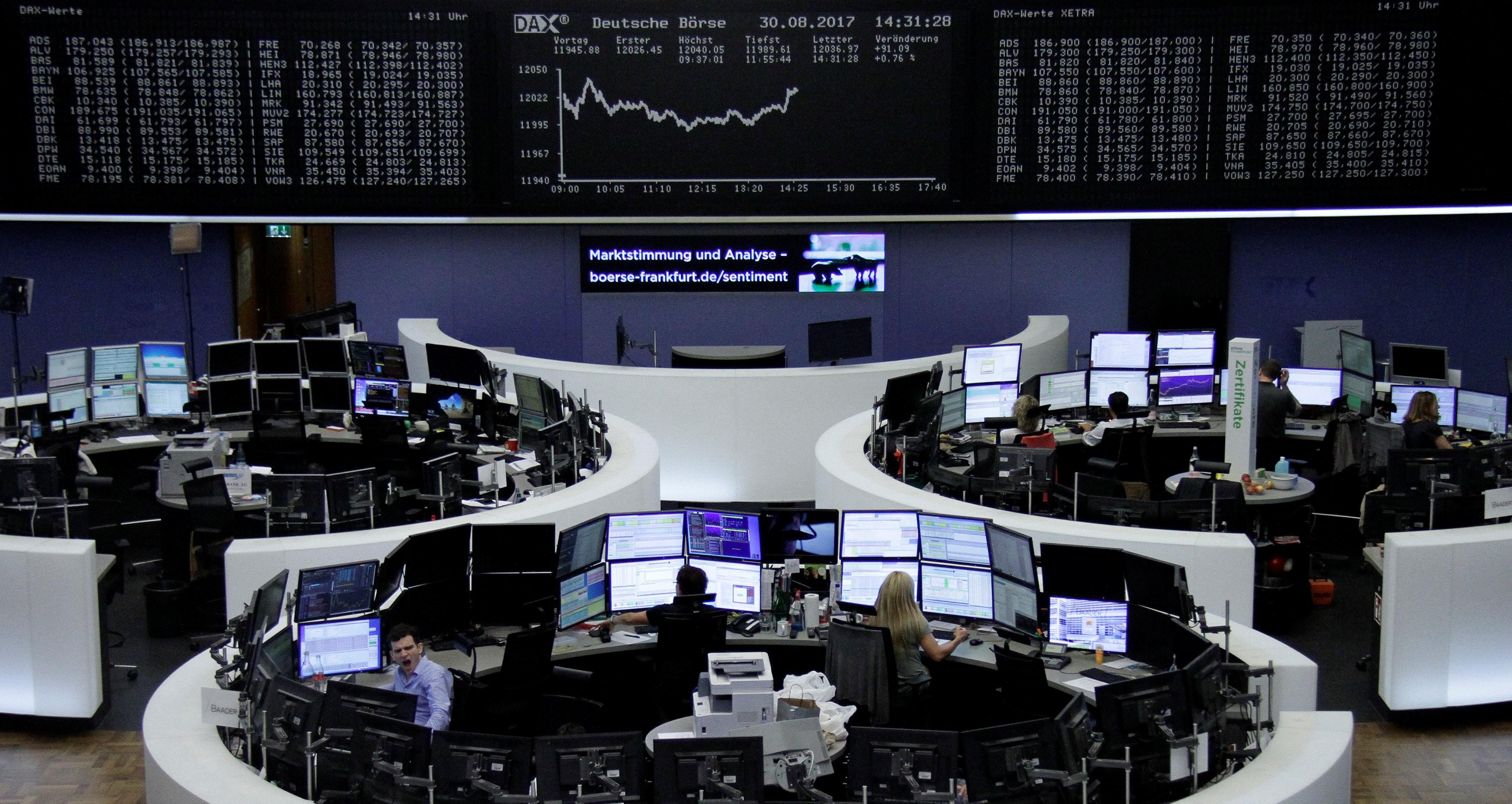 Bolsas da Europa fecham em alta, com alívio em embate entre EUA e China