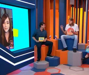 Daniel no programa 'A eliminação', do Multishow | Reprodução