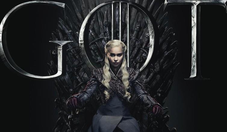 Daenerys Targaryen no trono de Game of Thrones (Foto: Divulgação)