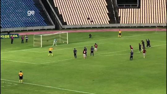Assista o primeiro gol da goleada do Moto sobre o Ypiranga-AP
