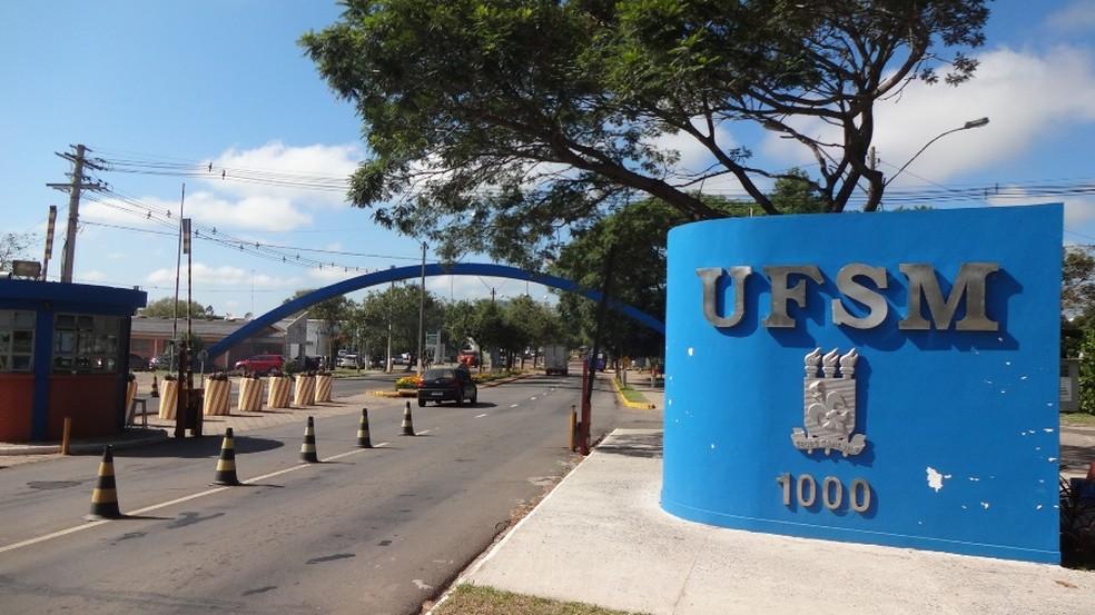 UFSM, em Santa Maria — Foto: Felipe Truda/G1