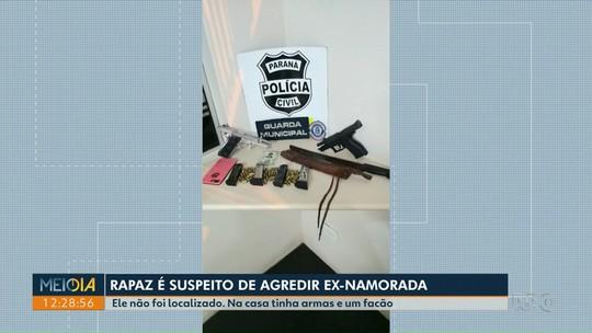 Homem é preso suspeito de agredir ex-namorada no Paraná