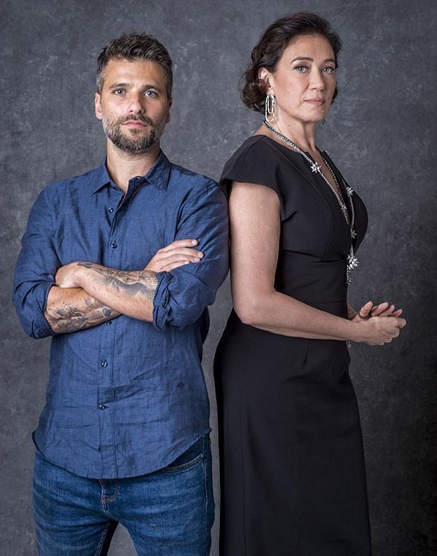 Bruno Gagliasso e Lília Cabral (Foto: João Cotta/Globo)