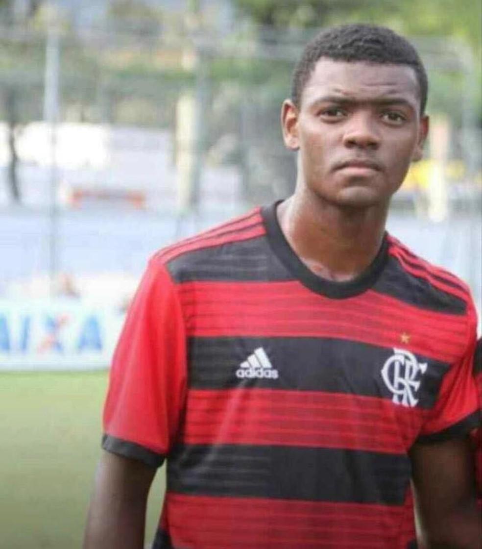 Pablo, Flamengo — Foto: Arquivo Pessoal