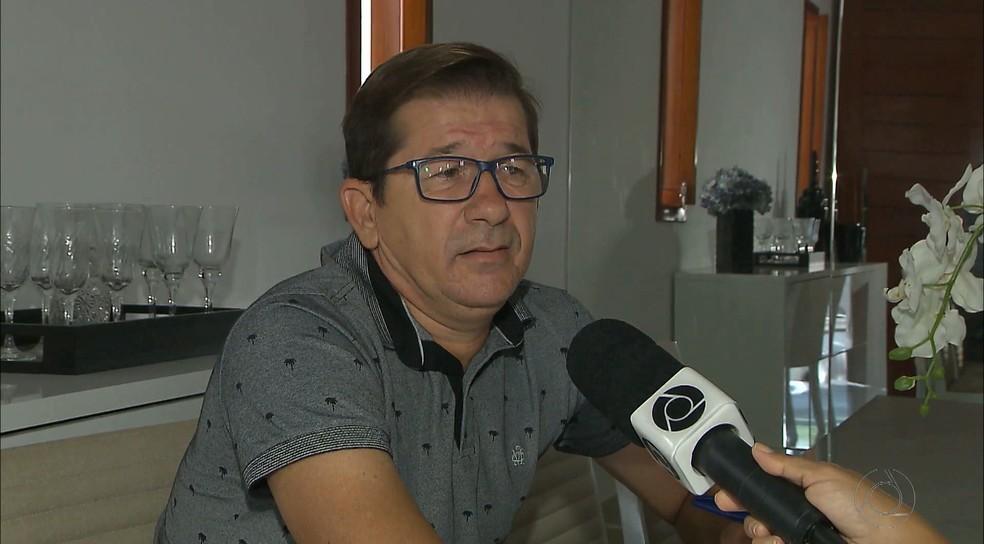 José Renato Soares foi afastado da Comissão de Arbitragem após a primeira reportagem do Fantástico (Foto: Reprodução / TV Cabo Branco)