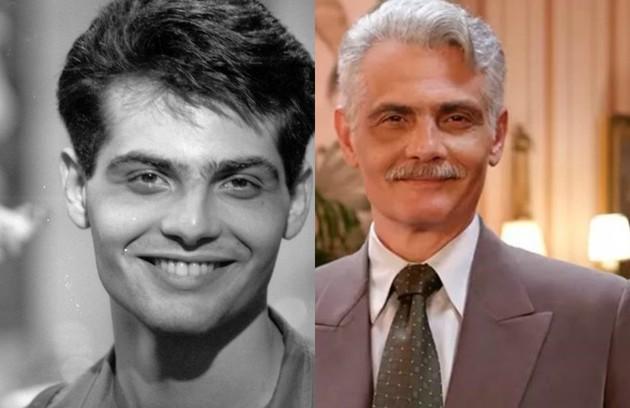Tarcísio Filho era Teddy, um dos filhos de Rafaela (Marília Pêra). O trabalho mais recente do ator foi na novela 'Verão 90', em 2019 (Foto: TV Globo)