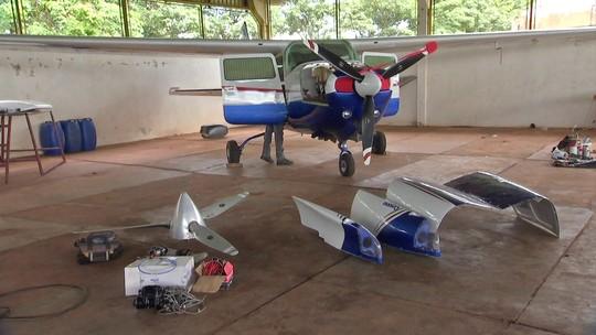 Polícia descobre oficinas que reparam aviões usando peças condenadas