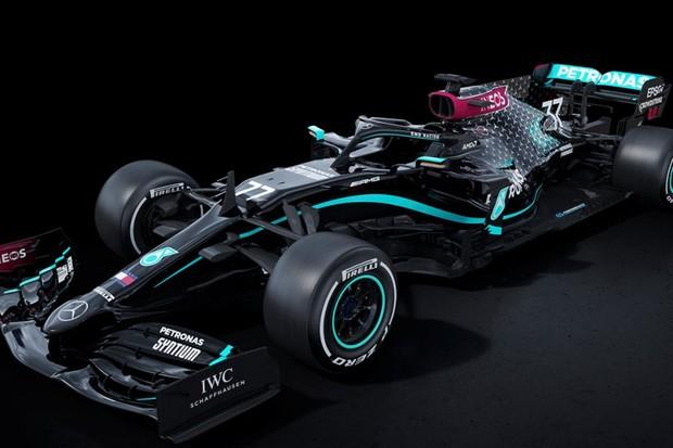 Nova cor carros de Fórmula 1 da Mercedes-Benz (Foto: Divulgação)