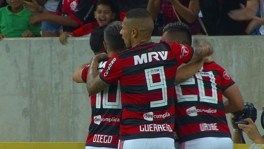 Pintura de Savio e oportunismo de Paquetá: gols de Fla 2 x 0 Botafogo