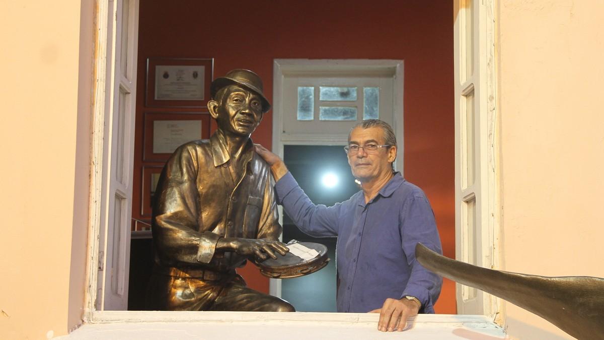 'João Pessoa inspira arte', diz escultor de Pernambuco autor de mais de 10 mil obras