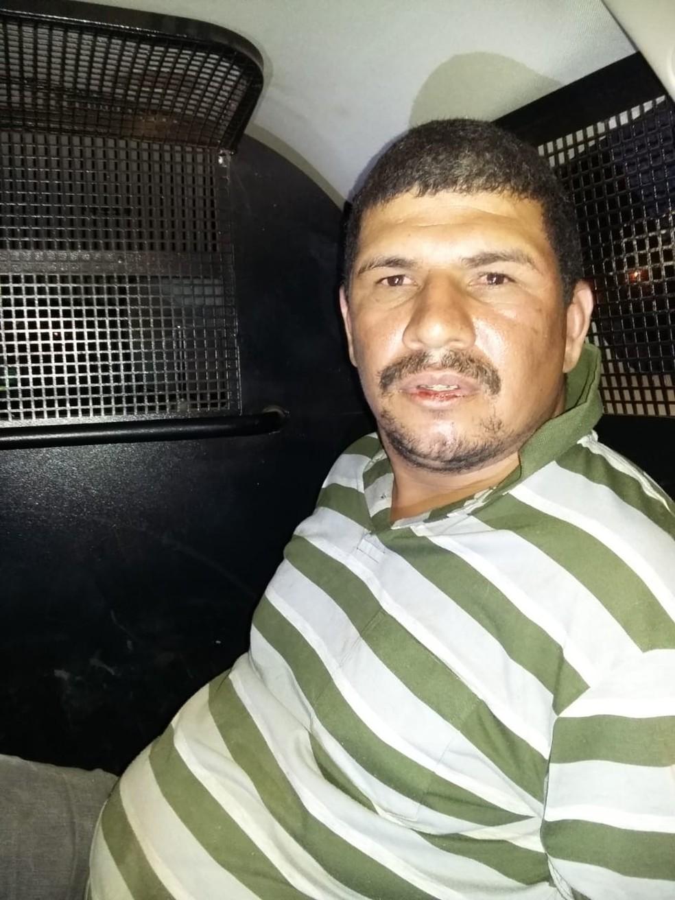 O vigilante, identificado como Luiz Fernando Nunes de Souza, de 31 anos, foi preso em flagrante — Foto: DHPP/Rondonópolis