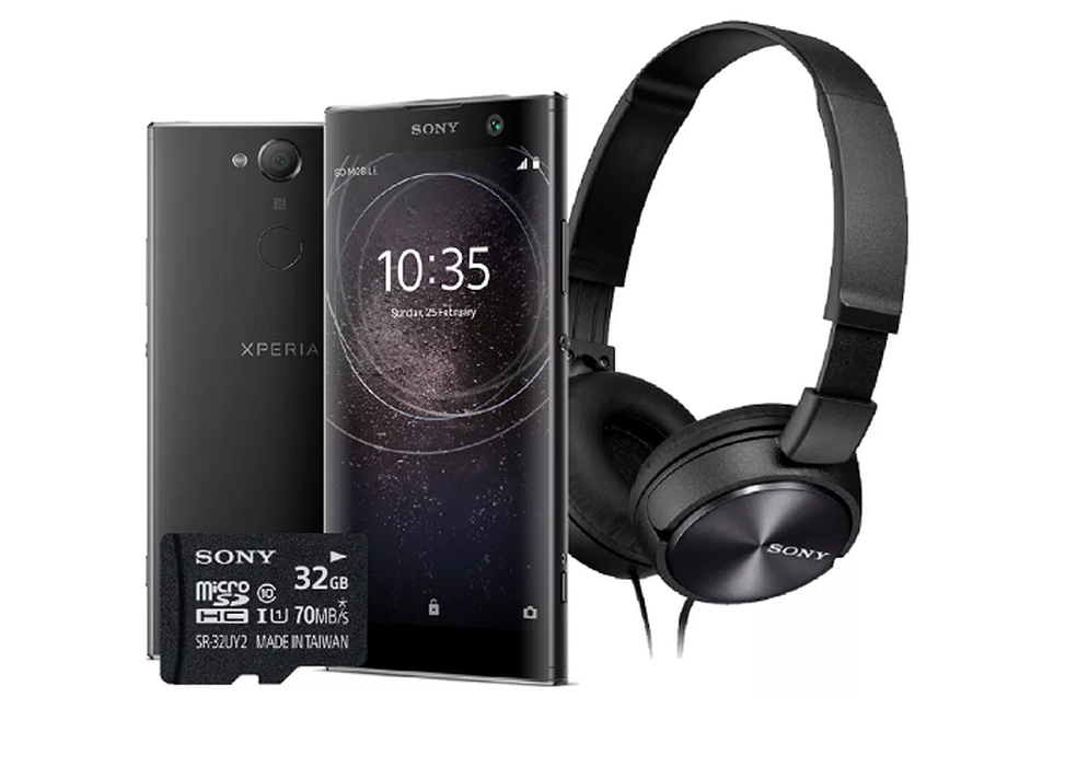 Sony Xperia XA2 chega ao Brasil em kit especial