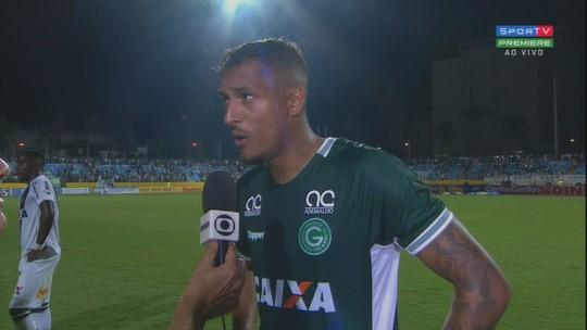 """David Duarte valoriza ponto, mas admite vacilos do Goiás no Olímpico: """"Pagamos pelo início"""""""