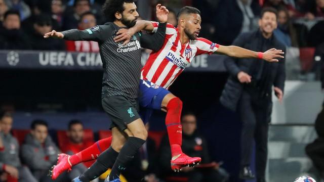 Renan Lodi, Atlético de Madrid, Salah, Liverpool