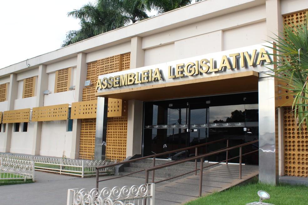 Assembleia Legislativa de Rondônia votou projeto esse ano (Foto: Cássia Firmino/ G1)