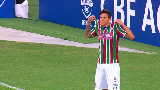 "Pedro e a cicatriz do gol sobre o Cruzeiro: ""Cortei a boca"""