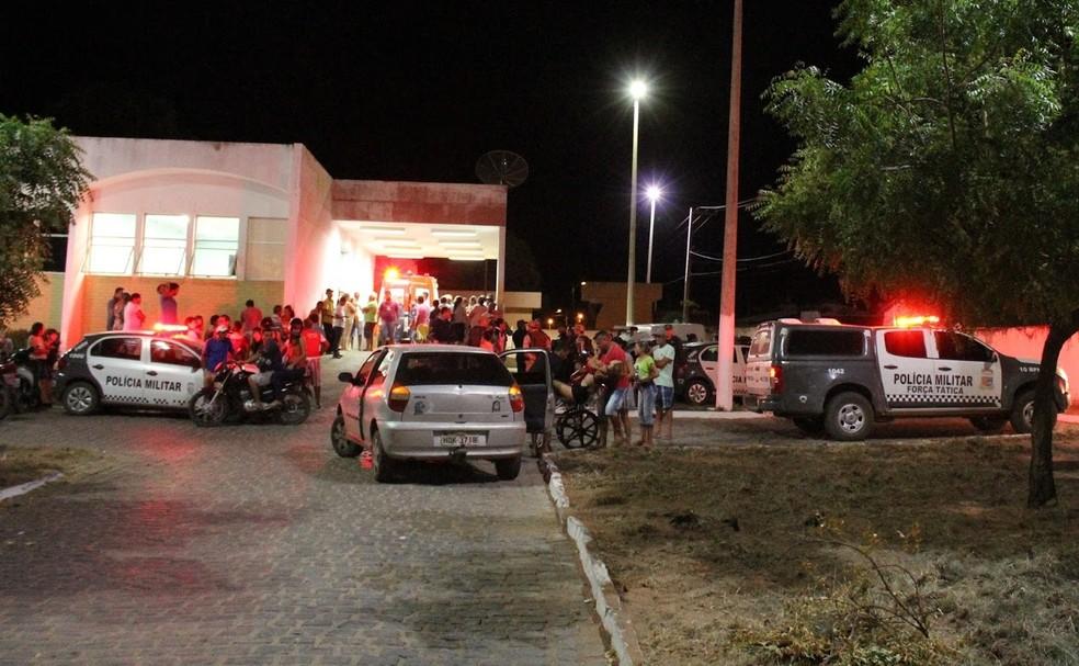 Mãe e sobrinho foram socorridos para o hospital da cidade, mas a idosa não resistiu aos ferimentos (Foto: AssuNotícias)