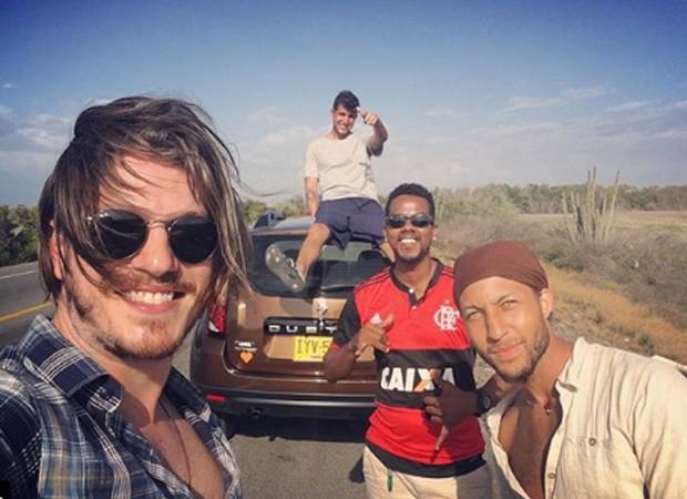 Caio Paduan viaja com amigos pela Colômbia (Foto: Reprodução/Instagram)
