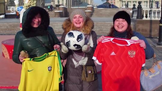 Russos prometem acolher turistas e têm carinho especial por brasileiros