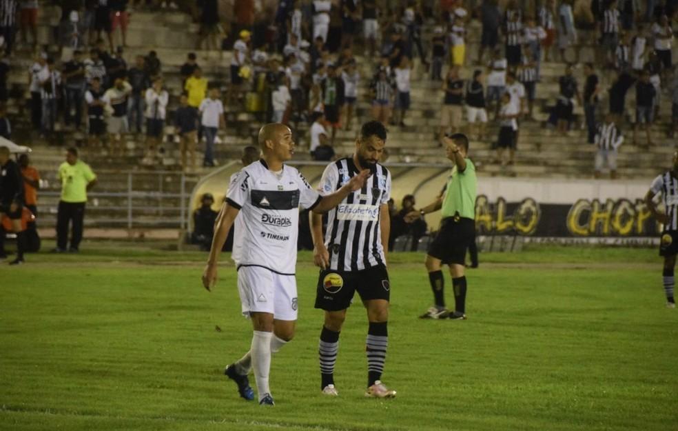O jogo entre Treze x Botafogo-PB, na fase de classificação, está entre aqueles considerados suspeitos pela polícia (Foto: Pedro Júnior / TV Torcedor)