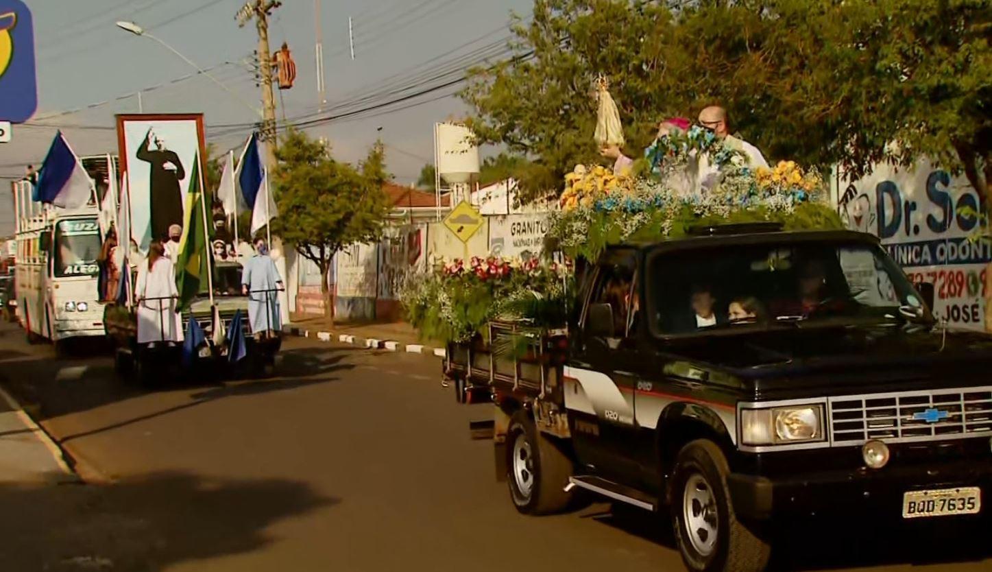 Carreata substitui tradicional 'Marcha da Fé' para celebrar os 60 anos da morte do beato Donizetti
