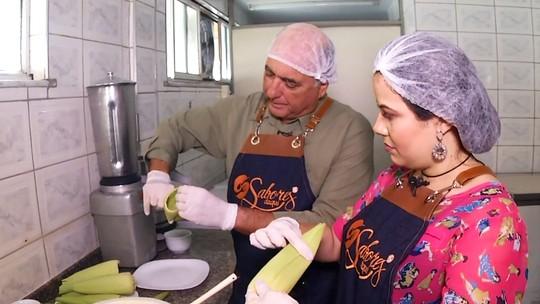 Aprenda a fazer pamonha doce