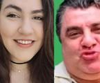 Vica Brenner, de 22 anos, e o pai, Gerson Brenner | Reprodução