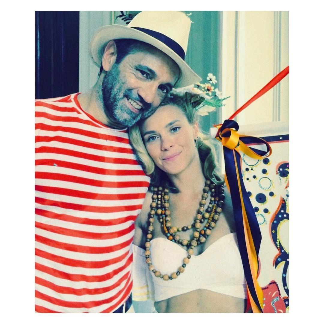 Domingos Montagner e Carolina Dieckmann (Foto: Reprodução/Instagram)