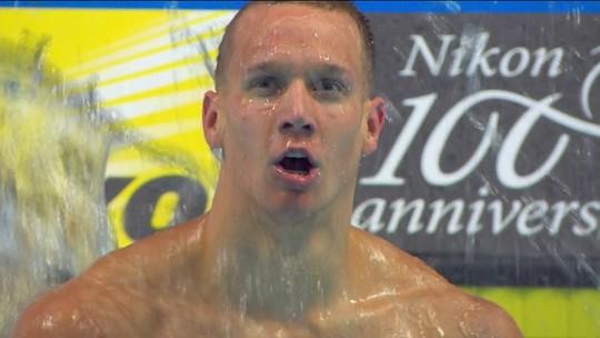 Com 7 ouros, americano de 20 anos repete Phelps e encara missão: prova de álgebra