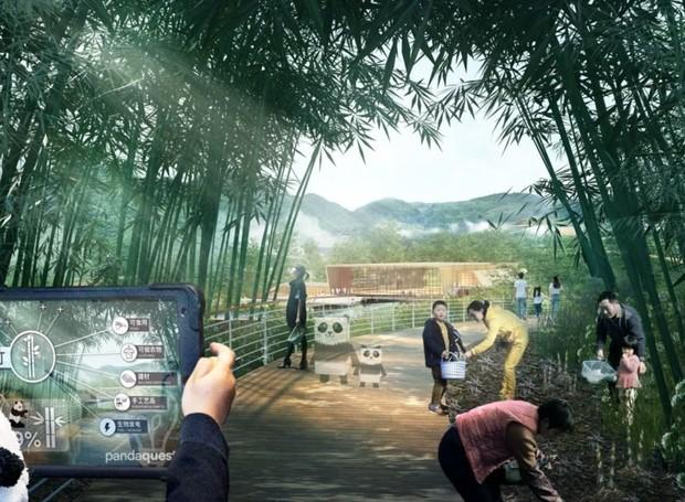A reserva acomodará 20 milhões de visitantes (Foto: China Discovery/ Reprodução)