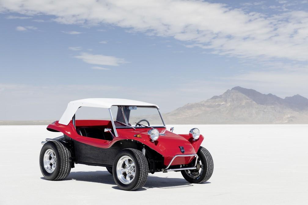 """""""Buggy"""" dos anos 60 serviu de inspiração para o Volkswagen ID Buggy — Foto: Volkswagen/Divulgação"""