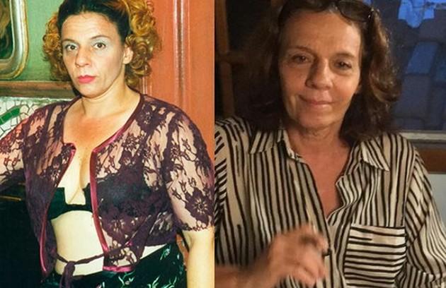 Rosi Campos foi Maria Tomba-Homem, amiga de Hilda. Sua última novela foi 'A dona do pedaço' (Foto: Reprodução)