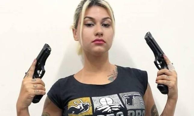 A ativista Sara Winter