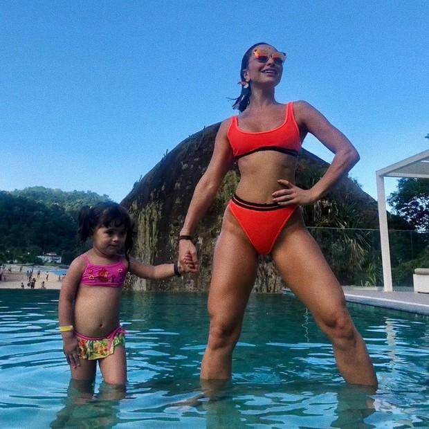 Sabrina Sato e a sobrinha, Manuela (Foto: Reprodução / Instagram)