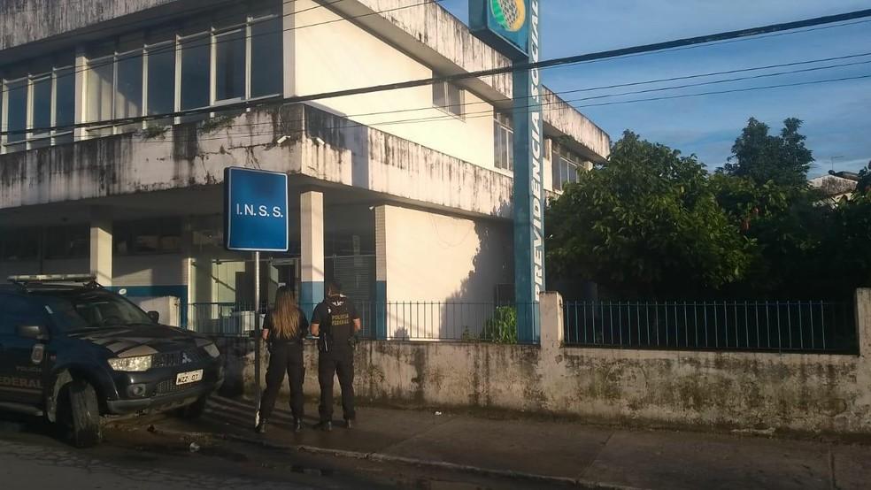 Polícia Federal deflagrou Operação Pinel em cidades da Bahia nesta quarta-feira (31) — Foto: Divulgação/Polícia Federal