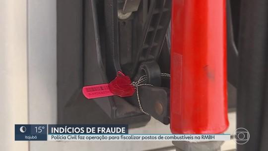 Polícia Civil encontra irregularidade em postos de combustíveis de Contagem, na Grande BH