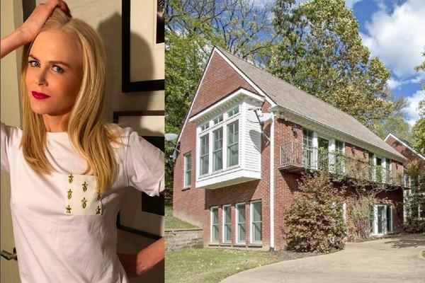 A casa de campo nos Estados Unidos vendida pela atriz Nicole Kidman por cerca de 10 milhões de reais (Foto: Instagram/Divulgação)