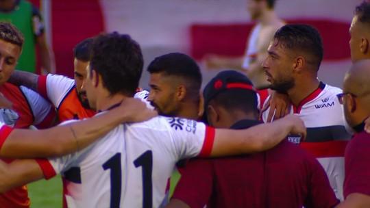 Capitão do acesso, Gilvan exalta união do elenco do Atlético-GO e espera renovar para 2020