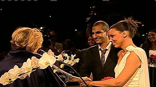 Casamento é realizado durante o Rock in Rio