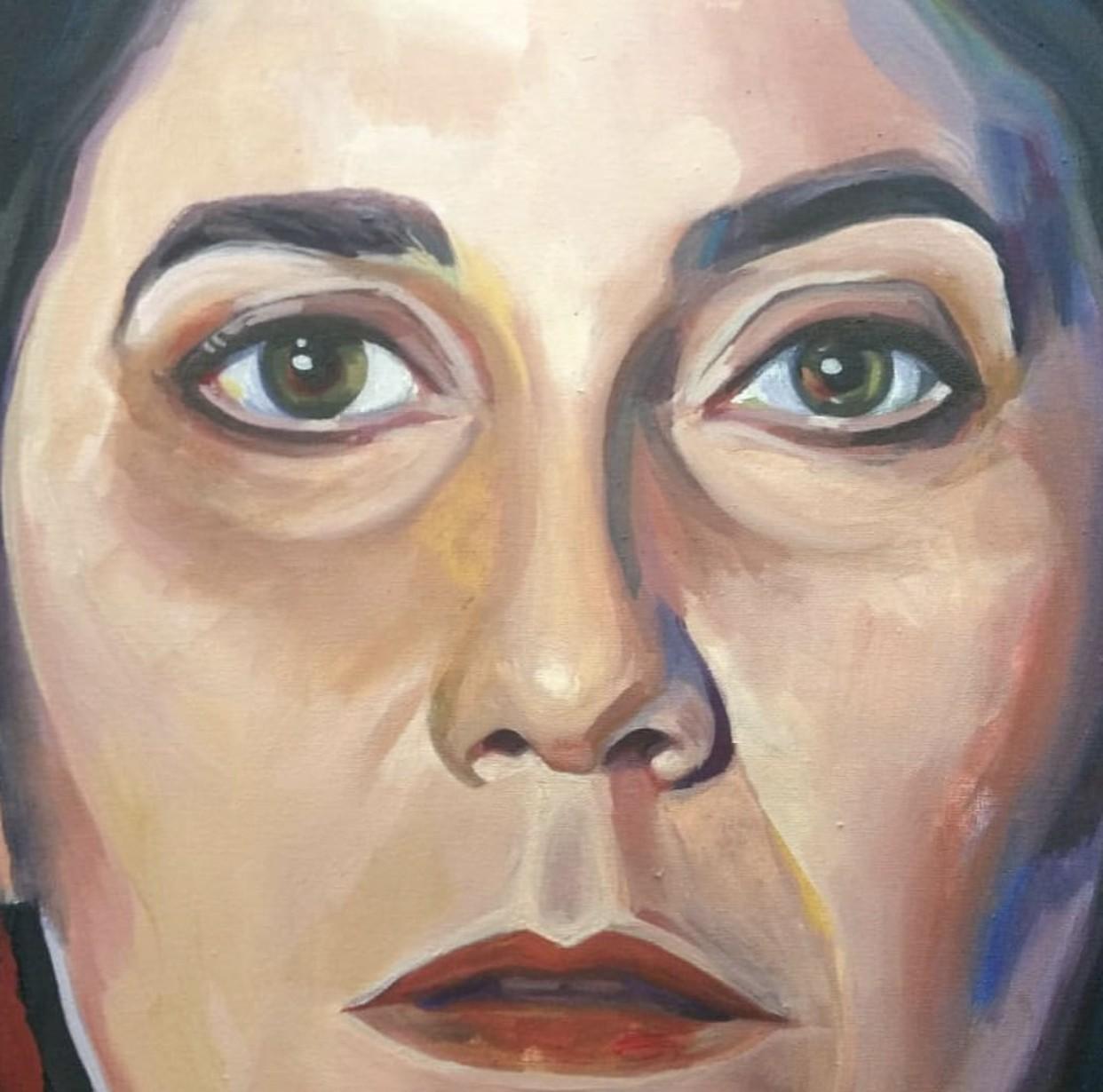 Mônica Salmaso é retratada pela pintora Leonora Weissmann em disco  com Guinga  - Notícias - Plantão Diário