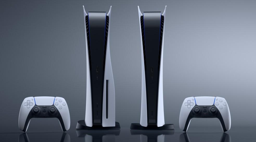 PlayStation 5 (PS5) chega ao Brasil em 19 de novembro por preços a partir de R$ 4.199 — Foto: Divulgação/Sony