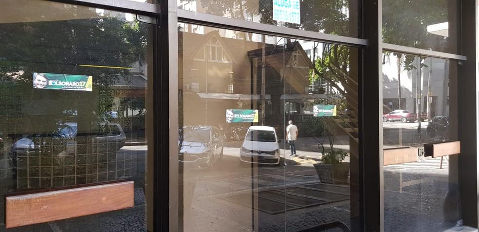 Fachada do endereço da sede do PSL em Belo Horizonte — Foto: Reprodução/TV Globo