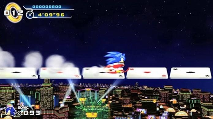 Sonic Runners levará o mascote para um jogo de corrida simplificado (Foto: Eurogamer)