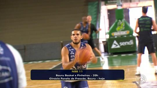 Bauru Basket recebe o Pinheiros pelo NBB