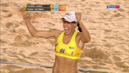 Carol Horta/Taiana vence Tainá/Victoria e conquista o SuperPraia de forma invicta