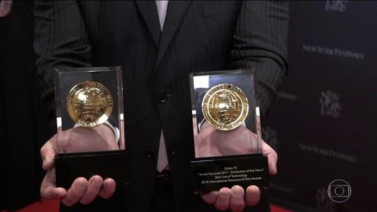 Grupo Globo ganha 13 prêmios no New York Festival, em Las Vegas