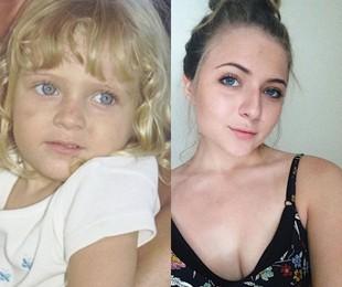 Júlia Maggessi volta à televisão aos 20 anos (Carlos Ivan / Reprodução)