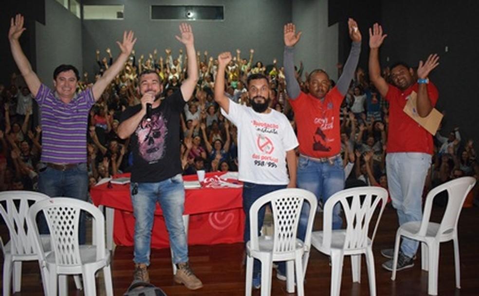Agentes de Saúde e Endemias de Campina Grande decidem paralisar as atividades uma vez por semana em março (Foto: Sintab/Divulgação)